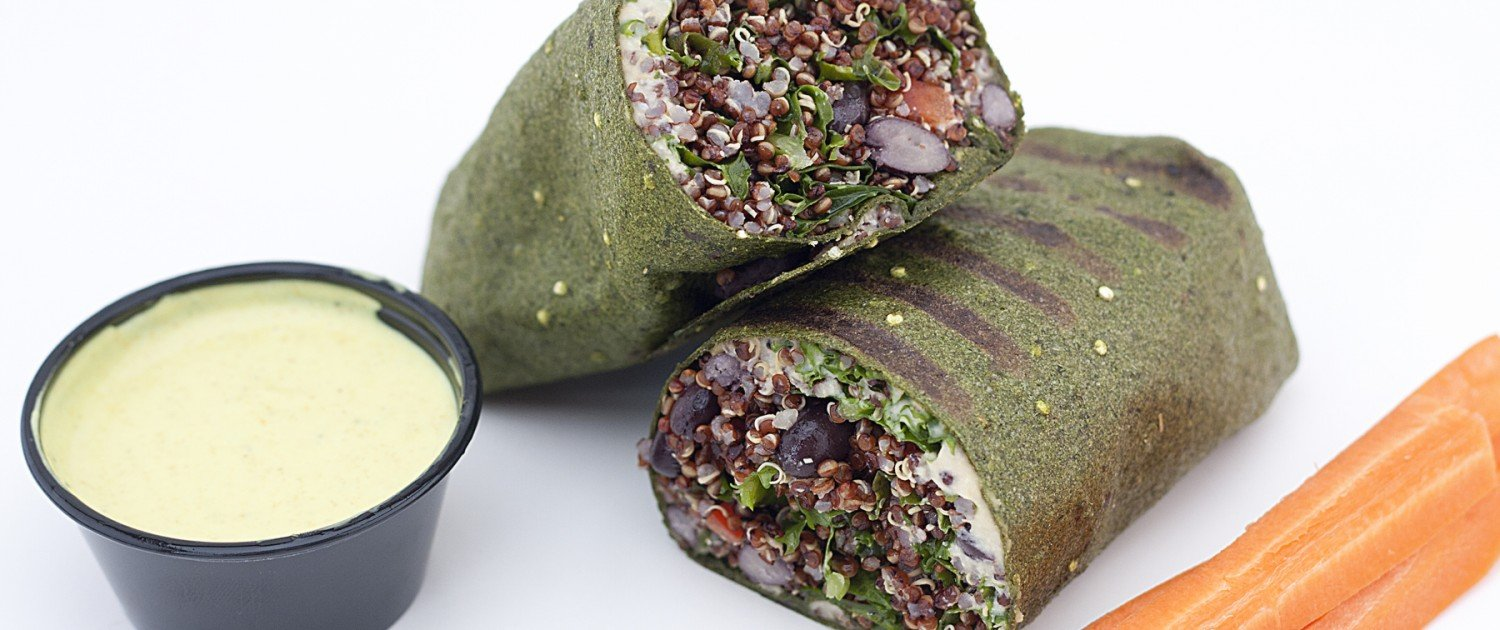 Vegan Quinoa Wraps_Raw Juicing and Detox Orlando Juice Bar